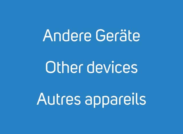 Andere Geräte